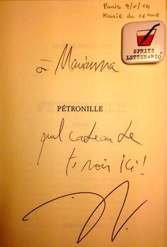 Pétronille - Amélie Nothomb [edizione francese Albin Michel, ottobre 2014]