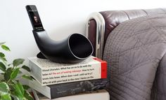 Megaphone Mini: Viking horn-shaped portable speaker for iPhone