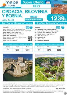 Croacia, Eslovenia y Bosnia salidas Barcelona Julio ** Precio Final desde 1239* ultimo minuto - http://zocotours.com/croacia-eslovenia-y-bosnia-salidas-barcelona-julio-precio-final-desde-1239-ultimo-minuto-2/