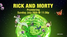 Rick and Morty is my favorite T.V. show because its just so funny, and every episode is just great