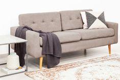 Canapea Fixa 3 locuri Ina Loft Beige #homedecor #inspiration #interiordesign #livingroom #decoration #decor Loft, Love Seat, Couch, Beige, Living Room, Interior Design, Inspiration, Furniture, Decoration