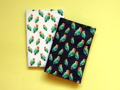 Lovebirds passport cover  colourful passport holder  unique Bold Colors, Colours, Zoo Park, Parrot Feather, Passport Cover, Pigment Ink, Travel Gifts, Love Birds, Color Splash