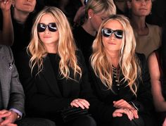 The Olsen twins always know how to keep their style chic.