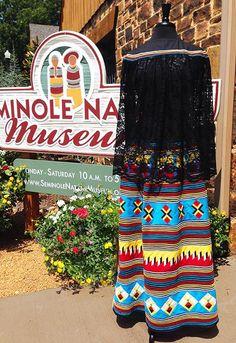 *Seminole cape and skirt*