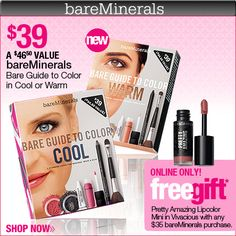 Love bareMinerals!! Best make up I have ever used!