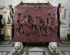 Sarcofago di Elena (madre di Costantino) Musei vaticani