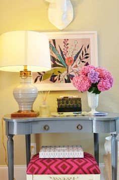 cohesive entryway console with bench - Google Search