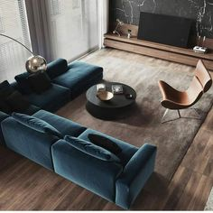 Living Room Interior Apartment - Modern Apartment Interior ideas that Grab Everyone's Attention Best Living Room Design, Living Room Modern, Home Living Room, Apartment Living, Contemporary Living Rooms, Cool Living Room Ideas, Contemporary Sofa, Urban Living Rooms, Cozy Living