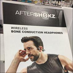 AfterShokz Bone-Conduction Headphone Display