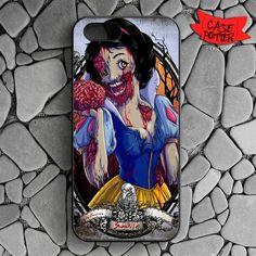 Zombie Snow White iPhone SE Black Case