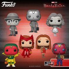 Funko Pop Marvel, Marvel Pop Vinyl, Marvel Marvel, Pop Vinyl Figures, Marvel Universe, Desenho New School, Funko Pop List, Wanda Marvel, Funko Pop Dolls