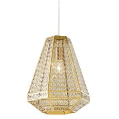 Introduce art deco design into your home with the gold glamour and chevron style of the Jager Pendant Light, Small from Rouge Living. Small Pendant Lights, Black Pendant Light, Pendant Lighting, Home Lighting, Lighting Design, Ceiling Fixtures, Ceiling Lights, Temple Of Light, Rooms Home Decor