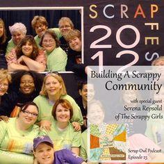 Scrap Owl Podcast Episode 23 The Scrappy Girls