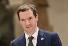 Public sector net borrowing down 21.6% as George Osborne increases government cuts.
