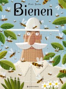 Piotr Socha Kinderbuch: Willkommen im Reich der Bienen! Hier können wir die fleißigen Insekten aus der Nähe betrachten, in einen Bienenstock schauen und alles über das Imkern erfahren. Wer bei Bienen nur an den leckeren Honig denkt, wird staunen! Denn wer hätte gewusst, dass es Bienen schon seit den Dinosauriern gibt? Was es mit dem Bienentanz auf sich hat? Oder warum es ohne die Bienen weniger Äpfel gäbe?