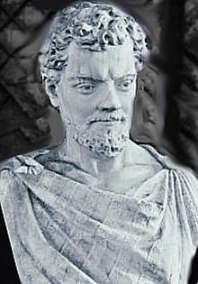 """Ingegno writes that Bruno embraced the philosophy of Lucretius (depicted in statue), """"aimed at liberating man from the fear of death and the gods."""" Characters in Bruno's Cause, Principle and Unity desire """"to improve speculative science and knowledge of natural things,"""" and to achieve a philosophy """"which brings about the perfection of the human intellect most easily and eminently, and most closely corresponds to the truth of nature"""""""
