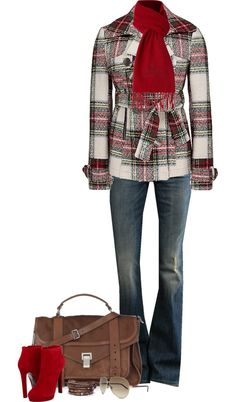 """""""BKE Coat (III)"""" by partywithgatsby on Polyvore great otufit for casual Fridays #fashion #women"""