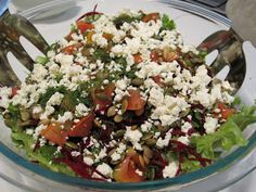 My love of food...: House Salad - Whitewater Cooks