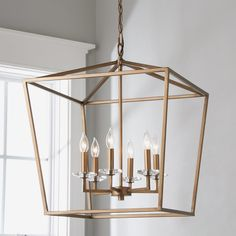Roswell Openwork Lantern - 6 Light,Roswell Openwork Lantern Large The very best chandelier is the main one with adjustable height If you have a tiny kitchen with a low ceiling, we recom. Entryway Chandelier, Entryway Lighting, Lantern Chandelier, Chandelier Shades, Hanging Lanterns, Chandelier Lighting, Dining Table Lighting, Dining Room Light Fixtures, Large Rustic Chandeliers