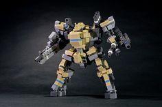 Beautifully bulky battlebot   The Brothers Brick   LEGO Blog