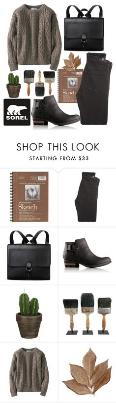 """""""Kick Up the Leaves (Stylishly) With SOREL: CONTEST ENTRY"""" by mydntkrl ❤ liked on Polyvore featuring SOREL, Citizens of Humanity, Monki, John Lewis, Uniqlo, Bliss Studio and sorelstyle"""