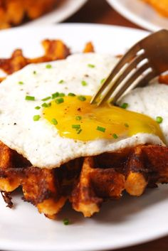 These low-carb waffles will become a weekend staple at your house.