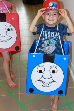 Thomas the Train Birthday Party - Amidst the Chaos