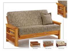 Full Size Portofino Futon Bed Package by Night & Day