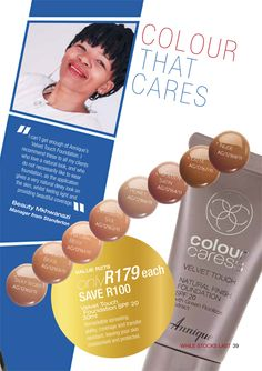 Annique | Monthly Specials ~ Rooibos-Miracle Touch Foundation, Personal Care, Beauty, Self Care, Personal Hygiene, Beauty Illustration