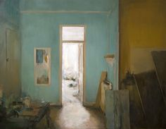 ◇ Artful Interiors ◇ paintings of beautiful rooms - Carlos San Millan