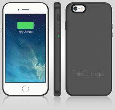 ThinCharge - Worlds Thinnest Battery Phone Case | Indiegogo