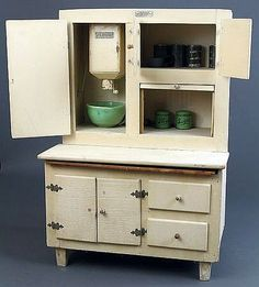 Toy Hosier Kitchen Cabinet.