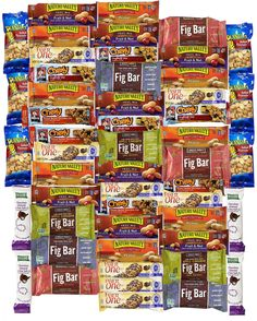 Ultimate Healthy Bar & Snacks Care Package Office Variety Pack (50+1 Count) -- Awesome products selected by Anna Churchill