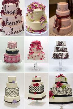 Wedding Cakes Featuring Studio Cake