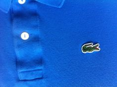 AUTHENTIC #LACOSTE POLO Mens Size 7 XL 100% Cotton Devanlay Short Sleeve Shirt - SOLD