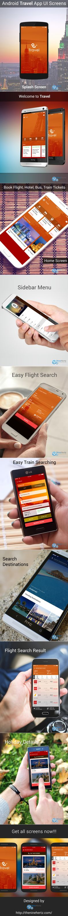 if you are thinking about to make a travel app   just use this FREE UI Pinterest