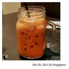 #FD1502 #Drink  奶茶一杯。。。我喜欢这个杯子!