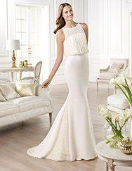 Pronovias te presenta el vestido de novia Yamel. Atelier Pronovias 2014. | Pronovias