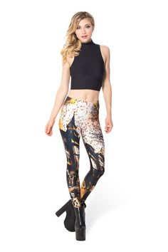 Haunted House 3.0 Leggings - LIMITED › Black Milk Clothing