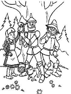 dorothy from the wizard of oz coloring pages  dibujos de el mago
