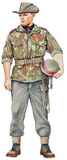 Униформа армии Конго 1960-2002 годов