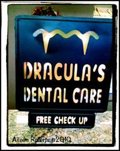 At the dentist office for Halloween! Pediatric Dental World - www.pediatricdentalworld.com