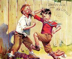 Vintage Ad by Francis Tipton Hunter (in color! Vintage Ads, Vintage Images, Vintage Posters, Norman Rockwell Paintings, Gauguin, Mary Cassatt, Magazine Ads, Henri Matisse, Retro Art