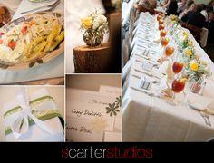 sage green wedding details