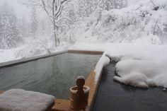 雪見風呂でほっこり。一人旅を満喫できる大人の宿「里山十帖」