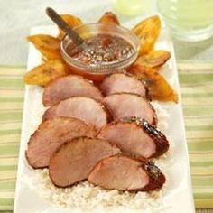 Chili Rubbed Pork Tenderloin With Apricot Ginger Glaze Allrecipes.com