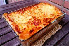 """Pasticho o lasaña de carne ¡Muy buenas amig@s! Hoy tenemos una maravillosa receta del blog """"Sabrina's sea of colors"""", donde encontraréis muy buenos platos. Para estar al tanto de las…"""