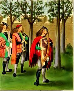 Medieval Minstrels  http://www.medieval-spell.com/Images/Medieval-Music/Medieval-Minstrels.jpg