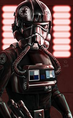 Star Wars fan art by Robert Shane