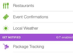 tracking package iphone app